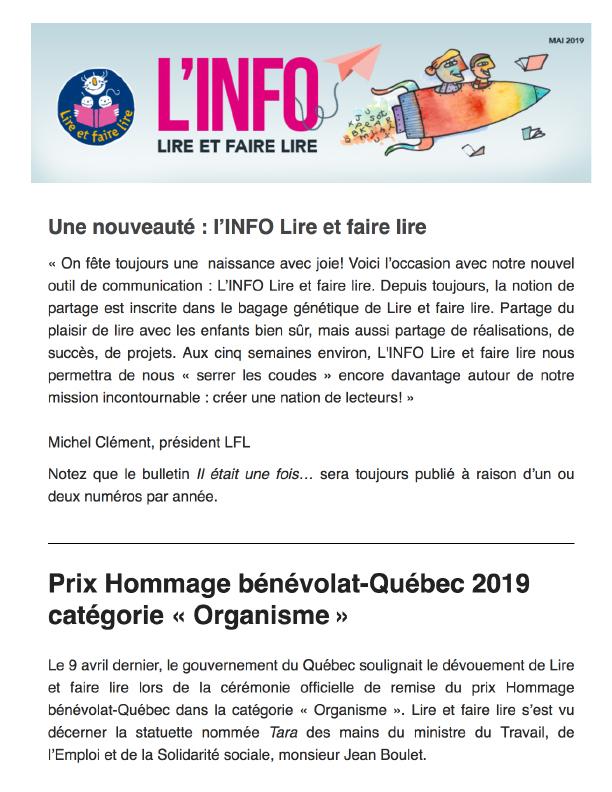 Info LFL Mai 2019